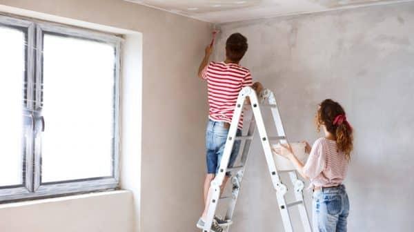 Qui doit repeindre un appartement en location ?