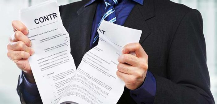 Quels sont les deux types de nullité des contrats ?